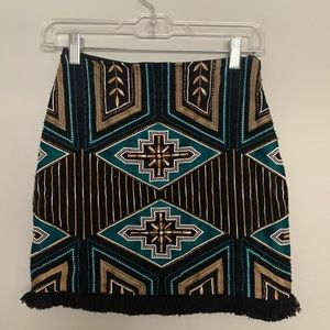 HM beaded skirt